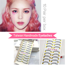「mixshop.sg」★ Taiwan Handmade Eyelashes ★ False Eyelashes / Makeup Artist choice / Double Eyelid Tape/Eye Lid Stickers 女人我最大