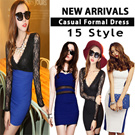 ★NEW ARRIVALS★15Type Dress Collection/Mini Dress/Simple Ladies Women Dress/European Style/Casual/Cocktail/Formal/Work Dress/short/sexy Dress
