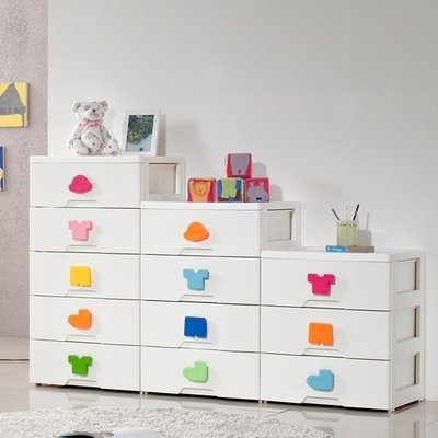 Kids Plus Plastic Storage Made In Korea Cabinet Drawer