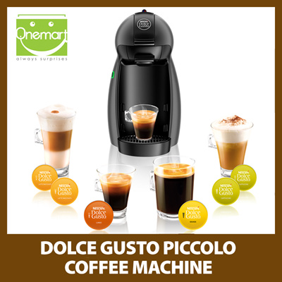 qoo10 dolce gusto piccolo coffee machine anthracite home electronics. Black Bedroom Furniture Sets. Home Design Ideas