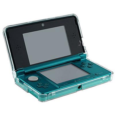 【送料無料】3DS液晶画面保護シートも付いてくる!Nintendo ニンテンドー3DS専用クリスタルカバーケース+液晶保護シート豪華セット 大切なNintendo 3DSを埃や傷や汚れから守るクリア仕様だから外観を損なわず本体をカバー/デコ用にも使用可能の画像