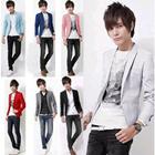 SALE!メンズファッション! Mens Formal Suit!メンズドレス・スーツ★カジュアルなスーツ★スリム・Groom Bestman/Business Suit★コート/8 colour