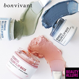 【Bonvivant】✨Botanical Mellow Clay Mask✨ Direct import from Korea ★★ Rainbow Masking ★★ Best price