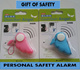 [Restocked Children Gift] Personal Safety Alarm Device / Keep loved ones safe / Anti-theft Protection / Handy and Compact / Loud Security Alarm Call for Help / Safety Precaution / Ward off Attackers