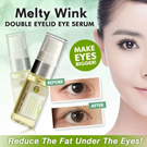 Melty Wink Double Eyelid Eye Essence ※MAKE YOUR EYE BIGGER AND SHINNY※ Made in Japan※FREE shipping from JAPAN within 3 days!!
