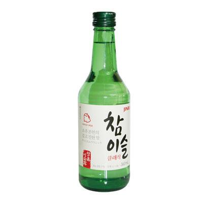【韓国食品・韓国お酒】あと味すっきり!■韓国のチャミスルCLASSIC360ml(オリジナル焼酎20.1%■の画像
