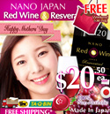 HURRY!!! *FREE DESIGNER TOTE BAG WITH 3-BOT PURCHASE!!! JAPAN #1 SLIMMING RED WINE! [BOOST FATS-BURNING AND DIGESTION!!!]★ JAPAN #1 SLIMMING ★ 100% NON-ALCOHOLIC • Made in Japan. Certified HALAL