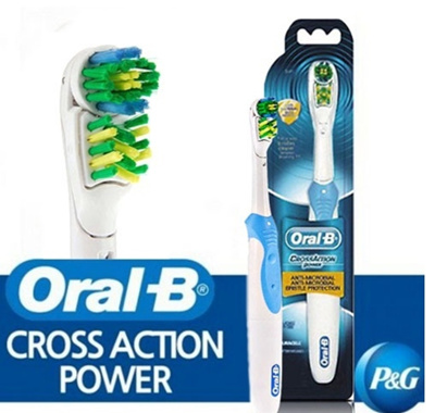 Oral b crossaction vaihtoharja