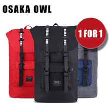 [1 for 1 BAG with Free Delivery] [Japanese] Osaka Owl High Capacity 25L Letter Strapped Rucksack   Sports   Casual