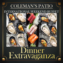 [Peninsula.Excelsior Hotel] Colemans Patio - Nett Price Dinner Extravaganza Buffet for 1 or 2 Adults