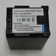 CANON BP-827 対応互換大容量バッテリー☆HFM43/HFM41/HFM32/HFM31/HFG10