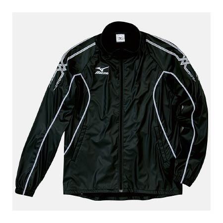 【クリックで詳細表示】ミズノ(MIZUNO) アスタースーツ(サウナスーツジャケット) A60WS15490 ブラック×ホワイト 【メンズトレーニングウェア ウインドブレーカー アスレ】