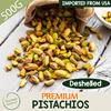 [500g]Premium Pistachios Kernel from USA riched in proteins  dietary fiber phosphorus potassium thiamine vitamin B-6  calcium iron magnesium zinc copper manganese