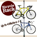 New Dual Bicycle Ceiling Stand / Bike Tower Rack (Up to 4 Meters). Lightweight Aluminium Alloy. Durable Heavy Duty !