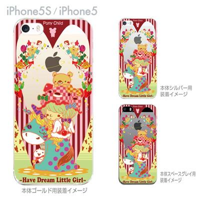 【iPhone5S】【iPhone5】【Little World】【iPhone5ケース】【カバー】【スマホケース】【クリアケース】【Pony child】 25-ip5s-am0049の画像