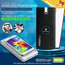 Creative Life ▶High Quality Wireless Power Bank◀GDC- Portable/Big Capacity/Wireless/USB/For Travelling/High Technique/Enjoy your life/2 Colors