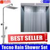 Tecno Rain Shower Kit | Professional Designer Stainless Steel Set | Model: TRS2260 | Astralis Series | Unique Extra Large Rain Shower Head | 120 Rain Shower Water Outlets |