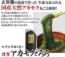 【福岡県・天然玄界灘産】アカモクとろろ1kg【お徳用】