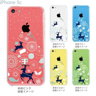 【iPhone5c】【iPhone5c ケース】【iPhone5c カバー】【ケース】【カバー】【スマホケース】【クリアケース】【クリアーアーツ】【クリスマスツリー】 08-ip5c-ca0104の画像