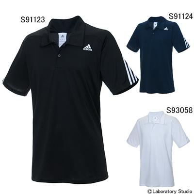 アディダス (adidas) M ESS 3S クライマポロシャツ KAY95 [分類:ポロシャツ (メンズ・ユニセックス)]の画像