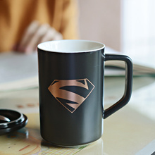 League of legends-ceramic Cup creative coffee mugs customized Superman drinking glass spoons with li