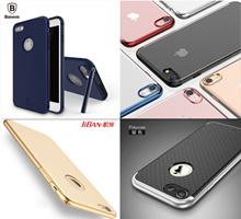 Premium Baseus/iPaky/Rock Apple iPhone7 / 7Plus / 6S / 6Plus Case / Premium Quality Casing / 9H Tempered glass / 3.5mm lightning Audio Adapter /
