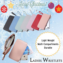 LITTLE MOMO 🎅🏼 XMAS GIFTS ❄️ WRISTLET MULTI-COMPARTMENTS 🌈 7 Colours