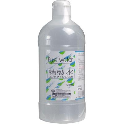 精製水コンタクトレンズ用500mL