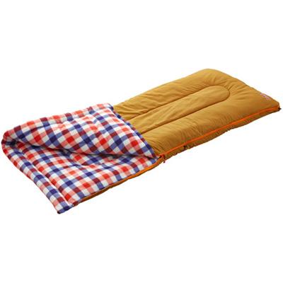 コールマン(Coleman)寝袋シュラフフリースEZキャリースリーピングバッグ/C0(レッドチェック)封筒型2000026647【花見キャンプアウトドア防災】
