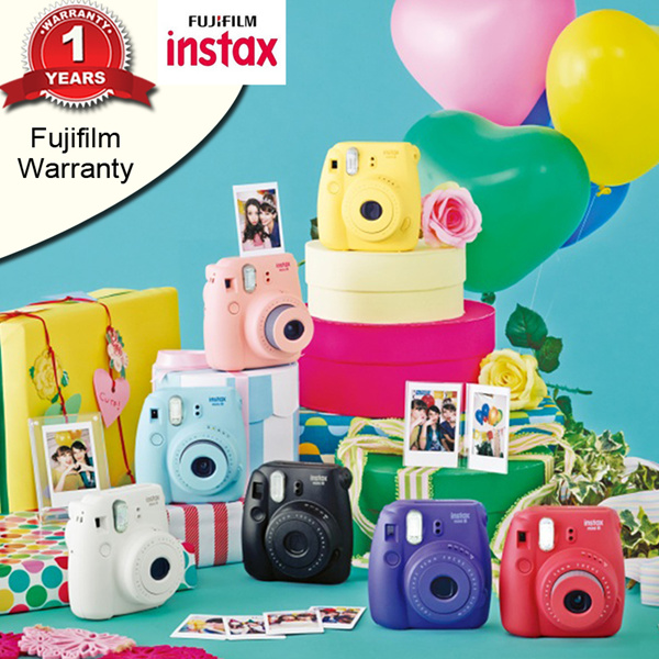 [Fujifilm]Instax Mini 8?1 Year Warranty? Deals for only S$129 instead of S$0