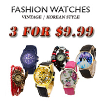 [SALE] Korean Style Vintage Watch/Leather Watch/Fashion Watch/Men Watch/Women Watch/Watch/Watches