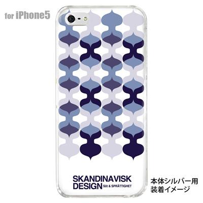 【iPhone5S】【iPhone5】【Clear Fashion】【iPhone5ケース】【カバー】【スマホケース】【クリアケース】【フラワー】【北欧デザイン】 10-ip5-skv-04の画像