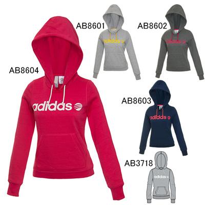アディダス (adidas) レディース BC 裏起毛スウェットパーカー W GXU26 [分類:スウエットシャツ・トレーナー (レディース)]の画像