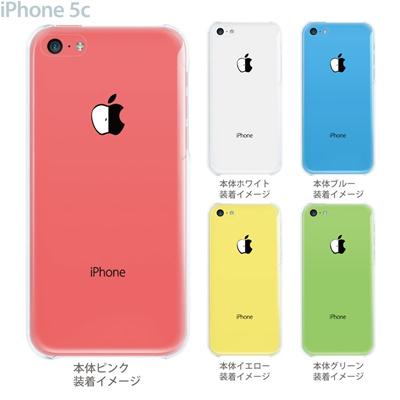 【iPhone5c】【iPhone5c ケース】【iPhone5c カバー】【ケース】【カバー】【スマホケース】【クリアケース】【クリアーアーツ】【割れたリンゴ】 08-ip5c-ca0110の画像