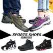 F/W (UNISEX)◆Outdoor Sports Air Cushion Shoes◆Mountain/ Camping/ Hiking/ Jogging/ Bicycle/ Motor-cycling/ Sneakers/ 4 styles/ 35-44 sizes