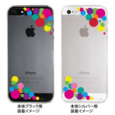【iPhone5S】【iPhone5】【iPhone5】【ケース】【カバー】【スマホケース】【クリアケース】【ドット】 ip5-22-fn0004の画像