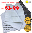 $3.99/100 Pieces Polymailers/Plastic Mailers/Courier Bags/Postal/Packaging Materials