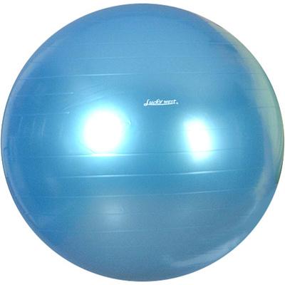 ラッキーウエスト(Luckywest)ヨガボールパールブルーLG-320【バランスボールフィットネスボール空気入れ付き】