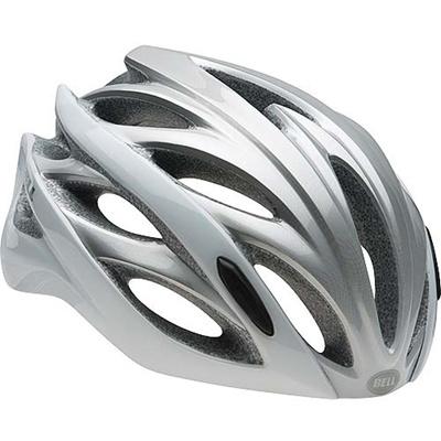 ベル(BELL) ヘルメット OVERDRIVE / オーバードライブ ROAD SPORTS ホワイトオンブル 【自転車 サイクル レース 安全 二輪】の画像