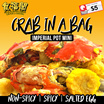 [食福閣 SHIFUGE] Crab in a Bag Imperial Pot MINI.BUY 2 CRABS GET 1 CRAB FREE!!. Salted Egg | Spicy