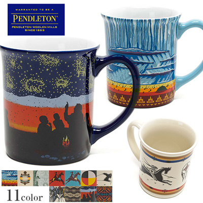ペンドルトン マグカップ コーヒーカップ ネイティブ PENDLETON 生活雑貨 カップ コップ 食器 キッチン雑貨 キッチン用品 プレゼント 通販の画像