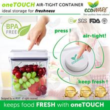 [SHOP + CART DISCOUNT!! | oneTOUCH | Airtight | Container | BPA free | Milk | Powder | Food | safe | Birdnest | kitchen | Air tight | kitchenware | ichef | Kids | Children | Baby | Emperor |