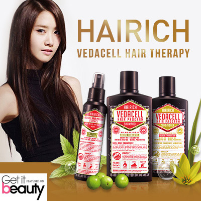 ?FREE SAME DAY DELIVERY!!!! BUY 3+1 FREE?NO.1 HAIR LOSS PRODUCT IN KOREA?HAIRICH VEDACELL? Deals for only S$69.9 instead of S$0