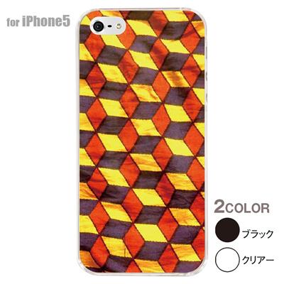【iPhone5S】【iPhone5】【アルリカン】【iPhone5ケース】【カバー】【スマホケース】【クリアケース】【その他】【アフリカン テキスタイルパターン】 01-ip5-con015の画像
