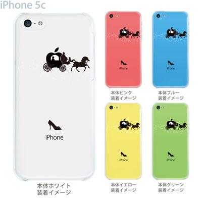 【iPhone5c】【iPhone5c ケース】【iPhone5c カバー】【iPhone ケース】【クリア カバー】【スマホケース】【クリアケース】【イラスト】【クリアーアーツ】【シンデレラ】 08-ip5cp-ca0060の画像
