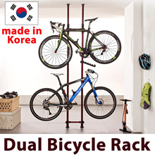 ◆Local Fast shipping◆Dual Bicycle Rack◆ CNY / New Year/Made in Korea/SG Local Delivery/Two column premium bicycle standing rack/ organizer/tower ceiling rack/door to door fast delivery/christmas
