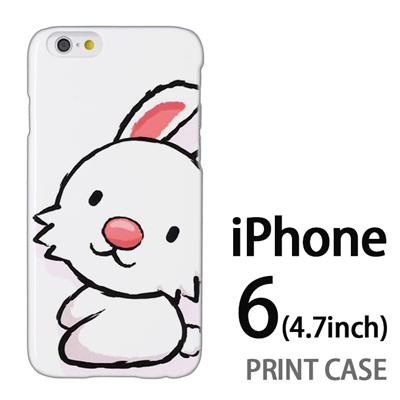 iPhone6 (4.7インチ) 用『0723 干支 卯』特殊印刷ケース【 iphone6 iphone アイフォン アイフォン6 au docomo softbank Apple ケース プリント カバー スマホケース スマホカバー 】の画像