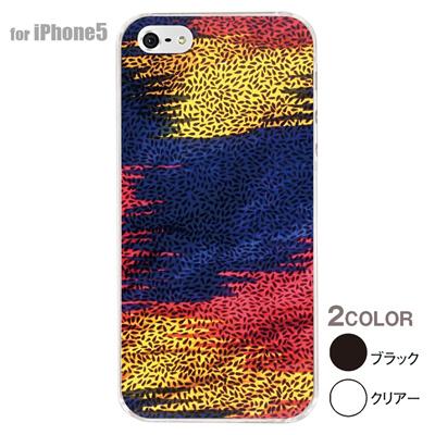 【iPhone5S】【iPhone5】【アルリカン】【iPhone5ケース】【カバー】【スマホケース】【クリアケース】【その他】【アフリカン テキスタイルパターン】 01-ip5-con017の画像