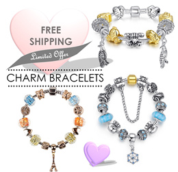 ♥LOCAL SELLER♥FAST SHIPPING♥Charm Bracelets♥Gift Collection♥Bracelet♥Jewelry♥Jewelry Fashion Accessories♥Sales♥