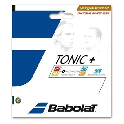 バボラ(Babolat) トニックプラス ボールフィール BT7 BA201026 730 ナチュラル 【テニス ガット ストリング 硬式】の画像